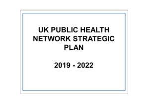 Title slide of strategic plan 2019-22